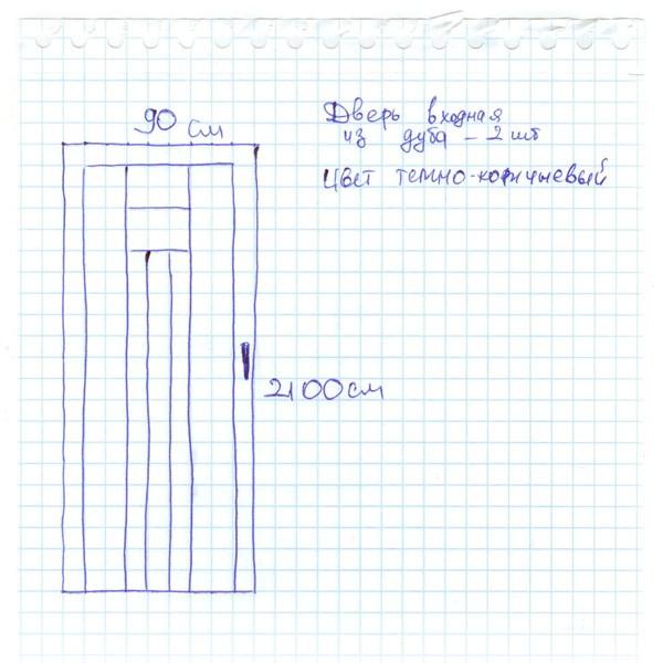 Пример заявки на расчет - 3