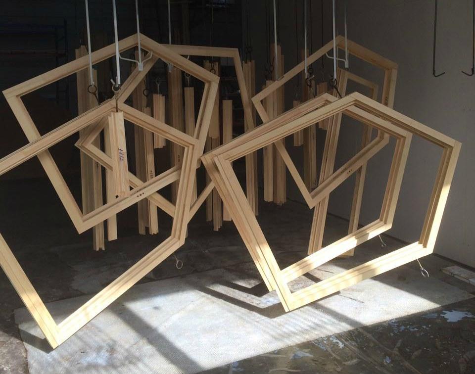 Формы деревянных окон